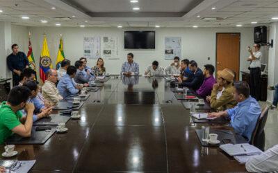 """""""Bienvenidas las propuestas para trabajar en equipo y de manera constructiva"""", palabras del alcalde Juan Carlos Cárdenas a los concejales"""