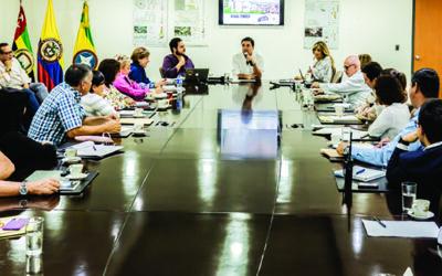 Bajo los cinco grandes propósitos que representarán su ejecución, el alcalde Juan Carlos Cárdenas presidió su primer Consejo de Gobierno