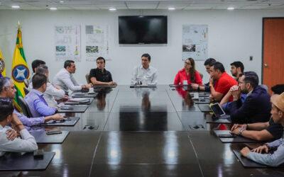 Alcalde y concejales de Bucaramanga tomarán decisiones para mitigar impacto en el recaudo del impuesto predial