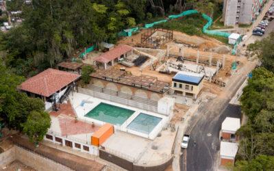 En un 62% avanzan las obras del Parque Dotacional, Ludoteca y Comercio en Norte Club