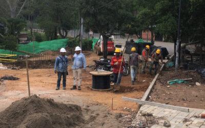 Obras del Parque Lineal del Río Suratá tienen un 39% de avance