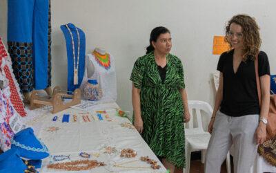 Aproveche el último día de exposición de artesanías en el Centro Integral de la Mujer