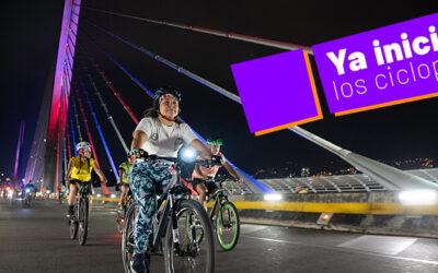 Ya iniciaron los ciclopaseos en Bucaramanga