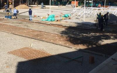 Obras complementarias en la Escuela Normal Superior serán entregadas el 25 de marzo