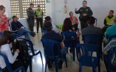 Alcaldía de Bucaramanga y Policía Nacional consolidan estrategias para crear entornos escolares seguros