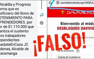 """Alcaldía y programa Progresa NO lideran entrega de """"Bono de sostenimiento para emprendedores"""""""