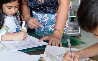 Así transcurrió el primer día de clase para niños estudiantes de colegios oficiales del norte de Bucaramanga