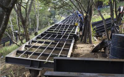 Obras de la Fase II del Parque Bosque Encantado tienen un 50% de avance