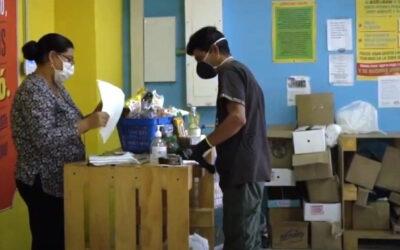 Continúa la entrega de mercados a 4.255 adultos mayores de Bucaramanga de escasos recursos