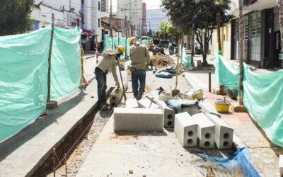 En cuatro frentes de trabajo se intensifican las obras de ciclo-infraestructura en Bucaramanga