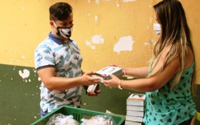 Sector privado entregó 12 mil kits de aseo a sectores vulnerables de Bucaramanga