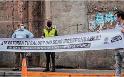 Con jornada pedagógica, Alcaldía de Bucaramanga invitó a acatar medidas de autocuidado frente al Covid-19