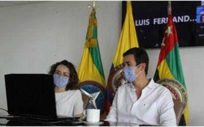 Alcaldía de Bucaramanga se reunió con mandatarios del país para trabajar en acciones que permitan la atención a migrantes