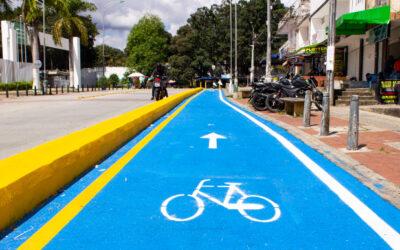 Ya empieza a tener vida el tramo de ciclo-infraestructura en la calle 9na