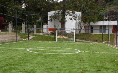 Parque Recrear del Norte, 17 mil metros cuadrados totalmente transformados que serán entregados a las comunas 1 y 2