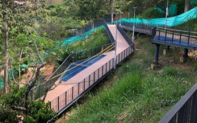 Obra de la fase II del Parque Bosque Encantado supera el 80% de avance