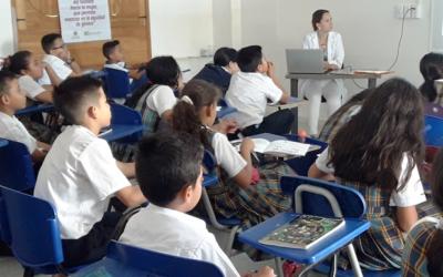 Proyecto 'Noviazgo saludable' fue presentado a colegios oficiales de las comunas 10 y 11 de Bucaramanga