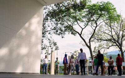 El Parque Recrear del Norte, una nueva obra realizada para el bienestar los bumangueses