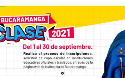 Hoy finaliza la inscripción para cupo escolar en grados cero y traslados para colegios oficiales de Bucaramanga
