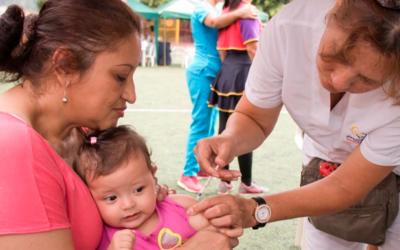 Consulte los centros de salud en donde se atenderá la Jornada Nacional de Vacunación en Bucaramanga