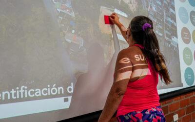 Alcaldía de Bucaramanga realiza taller de co-creación en El Porvenir para la transformación de un nuevo parque