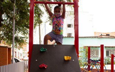 Alcaldía de Bucaramanga dignifica escenario para el sano esparcimiento en el barrio Campohermoso