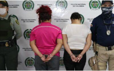 Dos mujeres capturadas por instrumentalizar a una menor para ejercer la mendicidad en Bucaramanga