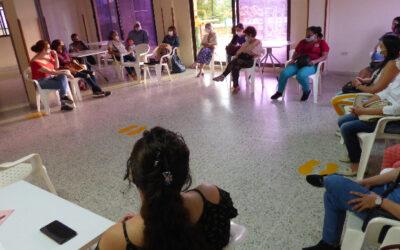 Con mujeres de cuatro comunas de Bucaramanga se cumplió en el barrio Álvarez, otra jornada exitosa de socialización de políticas públicas