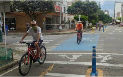 Habitantes de calle en proceso de rehabilitación disfrutaron de CLOBI BGA y de la ciclorrutas de la ciudad