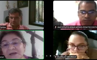 Secretaría de Educación de Bucaramanga explicó a colegios privados las tarifas educativas para el año 2021
