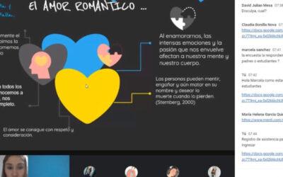 Más de 200 estudiantes de colegios públicos han participado en la estrategia 'Amores sanos, amores libres'