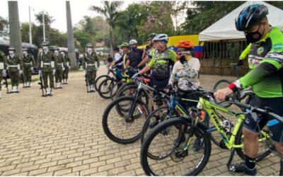 Alcaldía de Bucaramanga y Ejército Nacional lanzaron la estrategia 'Rueda Seguro'
