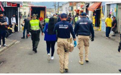 Atendiendo las quejas de la comunidad, adelantamos Comando Situacional en el barrio La Concordia