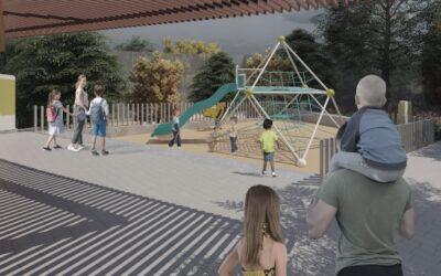 Alcaldía le cambiará la cara a salón comunal y el parque recreativo de Cordoncillo II