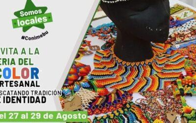 Vive, del 27 al 29 de agosto, la Feria del Color Artesanal