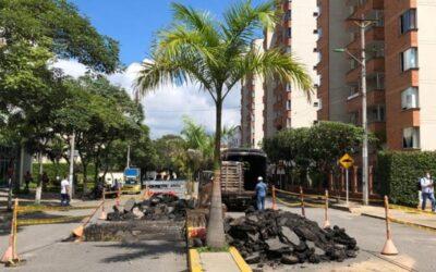 Alcaldía construye reductores de velocidad en tres barrios de Bucaramanga