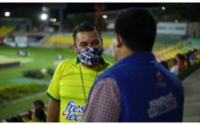 Bucaramanga vivió el fútbol en paz