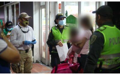 Se intensifican operativos de control migratorio en Bucaramanga