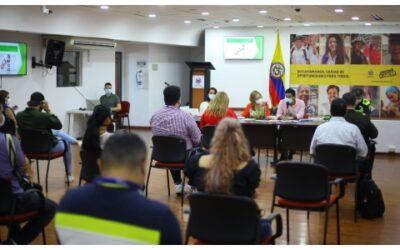 Se realizó segunda sesión del Consejo Municipal de Paz de Bucaramanga