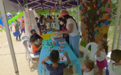 Programa de Ludotecas está presente en la Feria Institucional