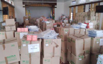 Un millón de tapabocas se distribuirán en los colegios oficiales de Bucaramanga