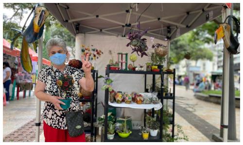 Artesanos adornarán Bucaramanga con sus productos