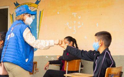 FFIE se compromete a iniciar en diciembre transformación del colegio rural Bosconia Santa Rita