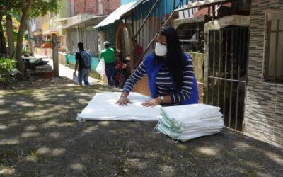 'Avanzada ambiental' llegó al barrio El Sol para incentivar el reciclaje