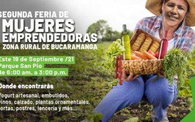 Apoya este domingo a las mujeres emprendedoras del sector rural en el Parque San Pío