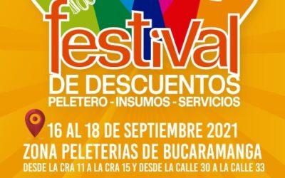 Del 16 al 18 de septiembre participe del Festival Peletero, Insumos y Servicios