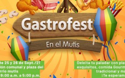 Viva el 'Gastrofest' en el barrio Mutis