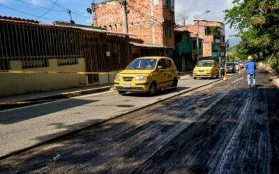 Se recupera 1 kilómetro de vía en la Transversal Metropolitana, cerca al Mercado Campesino