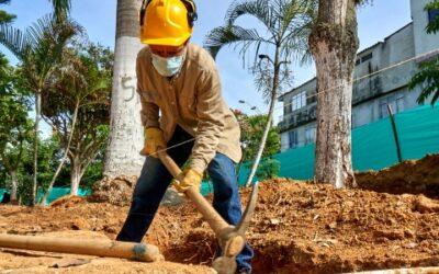 Se inició la transformación del Parque Los Héroes en Bucaramanga