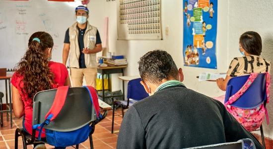 Adjudicado contrato para transformar dos sedes de la Institución Educativa Rural Vijagual